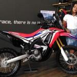 SEPEDA MOTOR TERBARU : Honda CRF250RALLY  Hadir di Jogja