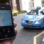 DEMO SEMARANG : Sopir Taksi Online Tolak Permenhub 108/2017 di Gubernuran Jateng