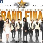 RISING STAR INDONESIA : Wah, Gelaran Grand Final RSI Malam Ini Bertabur Bintang