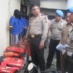 PENCURIAN SUKOHARJO : Polisi Bekuk Komplotan Pencuri Diesel Traktor