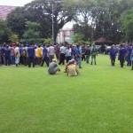 Demonstrasi Menolak Gojek di Balai Kota Solo Diwarnai Bentrokan