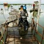 INFRASTRUKTUR DEMAK : Kondisi Jembatan di Demak Ini Mengerikan!