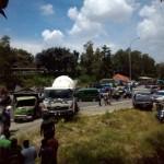 KECELAKAAN KARANGANYAR : Begini Kronologi Tabrakan Beruntun di Jalan Ring Road Mojosongo