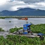 FOTO LINGKUNGAN HIDUP JATENG : Kapal Khusus Keruk Rawa Pening