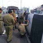 Satpol PP Karanganyar Sulit Tangkap Pelaku Vandalisme di Flyover Palur, Ini Sebabnya