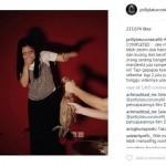 INSTAGRAM ARTIS : Penuhi Janji, Begini Ekspresi Prilly saat Gendong Bebek