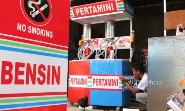 Percikan Api dari Lampu, Pertamini di Pulokulon Grobogan Ludes Terbakar