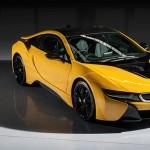 Begini Gaharnya Penampilan Sportcar Hybrid BMW i8 Protonic Frozen Yellow