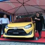 IIMS 2017 : Toyota New Agya 1.200cc Laris Manis