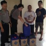 MIRAS SOLO : Dititipkan Bus Umum, Pengiriman 120 Liter Ciu ke Bandung Ketahuan