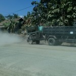 INFRASTRUKTUR WONOGIRI : Debu dari JLS di Pracimantoro Bikin Warga Sakit