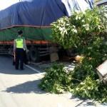 KECELAKAAN WONOGIRI : Tabrak Truk Parkir, Seorang Pengendara Motor Tewas