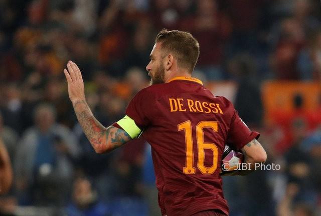 LIGA ITALIA : Imbas Milan Vs Roma, De Rossi dan Kalinic Cedera!