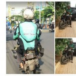 Iba Lihat Motor Butut Driver Ojek Online, Komunitas Motor Ramai Galang Dana
