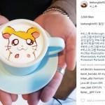 Cantiknya, Latte Art Buatan Barista Tampan Ini Bikin Jatuh Cinta