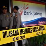 FOTO PERAMPOKAN SEMARANG : Begini Bank Jateng Yang Dirampok