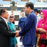 JK Tertawa Lepas Jokowi ke Arab Saudi