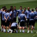 FINAL LIGA CHAMPIONS : Madrid Latihan Tertutup, Juve Latihan di Cuaca Panas