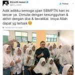 TRENDING SOSMED : Ucapan dan Doa untuk Peserta SBMPTN 2017 Ramaikan Medsos