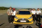 MOBIL TERBARU : Alinka & Awak Media Uji Ketangguhan Toyota New Agya