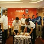 Liga 2 : Sponsori Klub di Jateng-DIY, Corsa Targetkan Penjualan Naik 60%