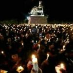 Foto Aksi 1.000 Lilin di Manahan Solo Hoax, Ini yang Sebenarnya