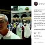 GUBERNUR JATENG : Ganjar Umrah, Netizen Malah Tanya Pogba