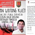 Hari Lahir Pancasila, Wali Kota Semarang Ajak Nonton Wayang