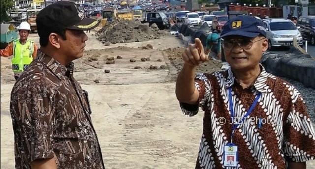 INFRASTRUKTUR SEMARANG : Pembangunan Underpass Terkendala Tanah Uruk, Netizen Heran