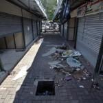 PASAR KLEWER :Kios-Kios di Pasar Darurat Ditempati PKL