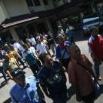 Sopir taksi argo melaporka pejabat DIY ke Polda DIY (Gigih M. Hanafi/JIBI/Harian Jogja)
