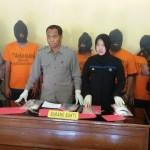 NARKOBA MADIUN : Hendak Pesta Sabu-Sabu, 5 Pria Ini Ditangkap