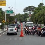 MUDIK LEBARAN 2017 : Rekayasa Lalu Lintas Mulai Diterapkan di Jl. Veteran dan Jl. Ahmad Yani Sragen