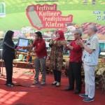 Festival Kuliner Tradisional Klaten Pecahkan Rekor MURI