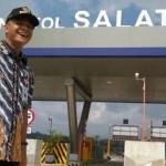 FOTO TOL SEMARANG-SOLO : Tol Salatiga Bikin Gubernur Terpesona