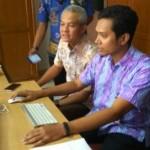 PPDB 2017 : Gubernur Ganjar Pantau Langsung PPBD Online