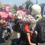 Arus Balik Lebaran 2017 Gemolong Sepi, Sragen Kota Ramai Lancar