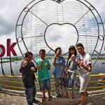 WISATA SEMARANG : So Sweet, Ada Gembok Cinta di Bukit Cinta