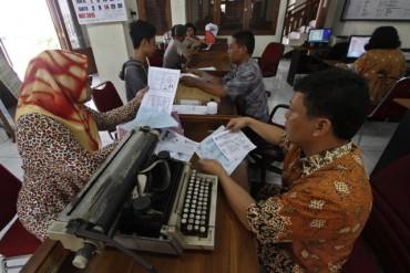 Ilustrasi suasana unit pelayanan publik di Kantor Kelurahan di Solo. (Dokumentasi/JIBI/Solopos)