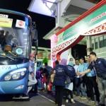MUDIK 2017 : Tak Hanya Pemudik, Honda Juga Bawa Motornya ke Semarang