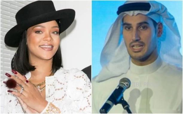 Rihanna dan Hassan Jameel (Telegraph.co.uk)