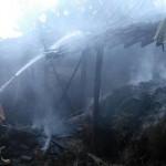 KEBAKARAN SRAGEN : Kandang Sapi Milik Warga Miri Terbakar
