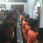 HELIKOPTER BASARNAS JATUH : Seratusan Personel Komunitas Klaten Gelar Salat Gaib