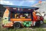 KULINER SOLO : Jual Nasi Pecel, Food Truck Ini Tetap Laris Manis
