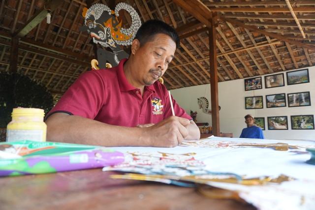 WISATA WONOGIRI : Kampung Wayang Bikin Paket Wisata Khusus untuk Sukarelawan