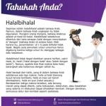 TAHUKAH ANDA? : Ternyata, Begini Asal-Usul Kata Halalbihalal