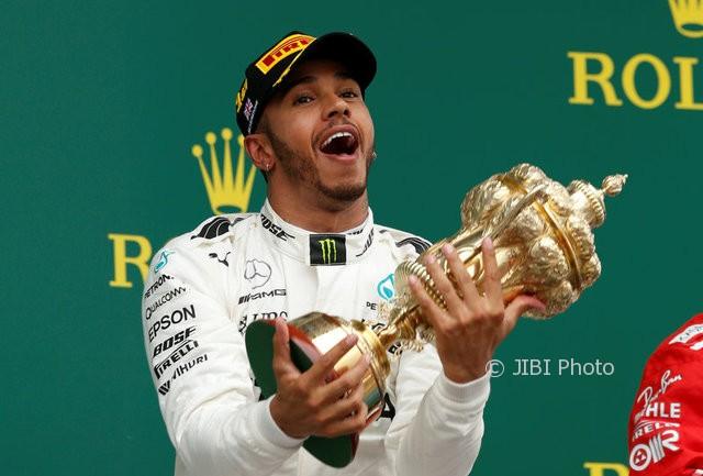 Menang di GP Portugal, Hamilton Lampaui Rekor Schumacher