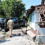 KECELAKAAN BOYOLALI : Pagi Minta Traffic Light, Siang Rumah Diseruduk Kendaraan Lagi