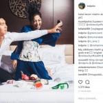 INSTAGRAM ARTIS : Mesra Bareng Pacar di Ranjang, Nikita Willy Bikin Jomblo Iri