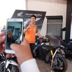 MOTOR HONDA : Ingin Jajal Motor Marc Marquez di Sirkuit Sentul? Begini Caranya...